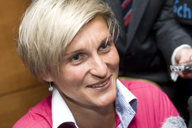 Tisková konference Sportovec roku 2012, Barbora Špotáková