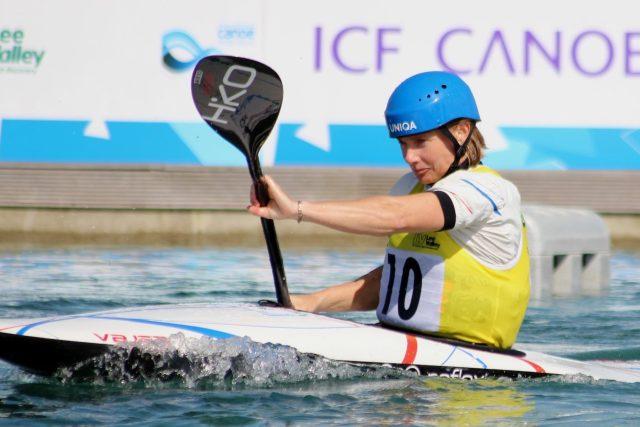 Výrazně větší respekt mám k přírodní vodě než ke kanálu. Nejextrémnější olympijská voda byla v Pekingu,  vzpomíná Štěpánka Hilgertová | foto: Martin Kovařík