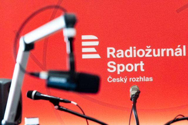 Přípravy newsroomu nové stanice Radiožurnál Sport   foto: Khalil Baalbaki,  Český rozhlas,  Český rozhlas