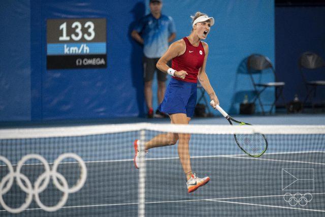 Poslechněte si celý rozhovor s tenistkou Terezou Martincovou | foto: Václav Pancer,  Český olympijský výbor