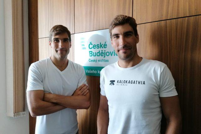 Čeští sportovci David a Tomáš Svobodovi