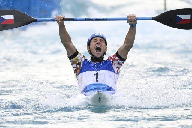 Jiří prskavec získal v Tokiu druhou zlatou medaili pro českou výpravu | foto: Ondřej Deml,  ČTK