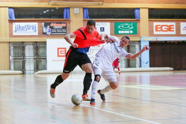 Futsal v Českých Budějovicích. Ilustrační foto | foto: David Peltán,  MAFRA / Profimedia