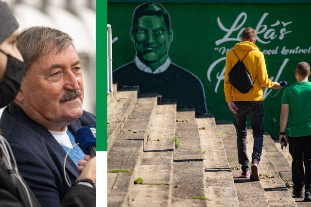 Martin Minha na Andrově stadionu | foto: Jiří Šeda,  Český rozhlas