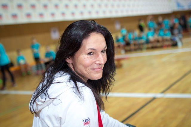 Atletka a trojskokanka Šárka Kašpárková | foto: Marek Podhora,  MAFRA / Profimedia