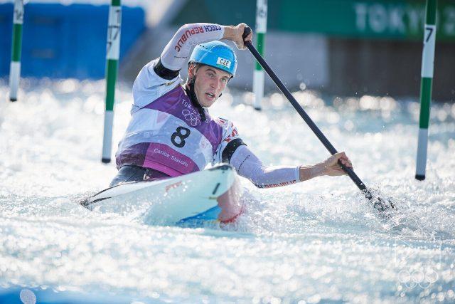 Lukáš Rohan,  stříbrný medailista z Tokia 2020   foto: Barbora Reichová,  Český olympijský výbor  (5235372)