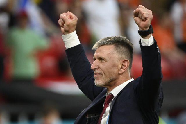 Poslechněte si celý rozhovor s trenérem české fotbalové reprezentace Jaroslavem Šilhavým | foto: Ondřej Deml,  ČTK