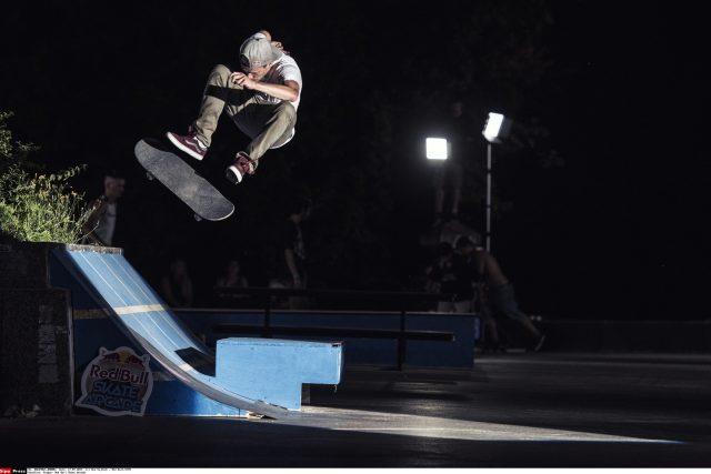 Český skateboardista Maxim Habanec