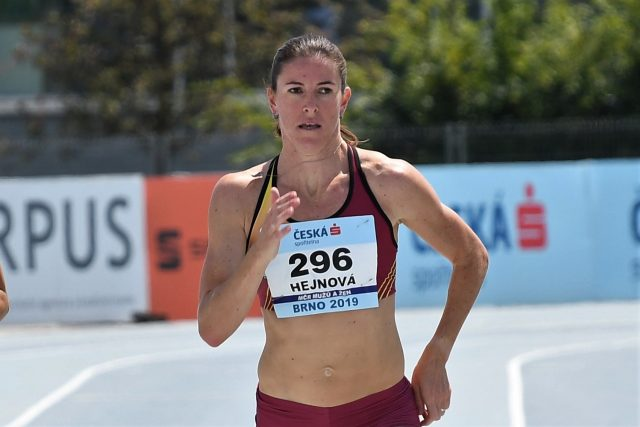Nechtěla bych se s kariérou loučit tak,  že bych neabsolvovala žádný závod. Doufám,  že se ještě připravím na nějaký start,  říká Hejnová | foto: ASC Dukla - Ivana Roháčková